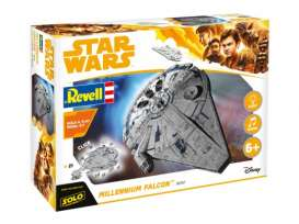 Star Wars  - Han Solo Item A  - 1:164 - Revell - Germany - 06767 - revell06767 | Tom's Modelauto's