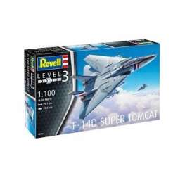 Military Vehicles  - F-14D Super Tomcat  - 1:144 - Revell - Germany - 03950 - revell03950 | Tom's Modelauto's