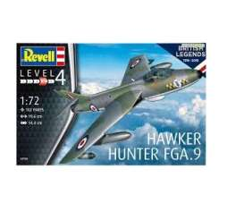 Military Vehicles  - Hawker Hunter FGA  - 1:72 - Revell - Germany - 03908 - revell03908 | Tom's Modelauto's
