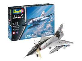 Military Vehicles  - Dassault Mirage III E  - 1:32 - Revell - Germany - 03919 - revell03919 | Toms Modelautos