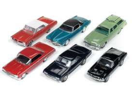Assortment/ Mix  - various - 1:64 - Auto World - 64182A - AW64182A | Tom's Modelauto's