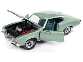 Buick  - Grand Sport 1970 green - 1:18 - Auto World - AMM1149 | Tom's Modelauto's