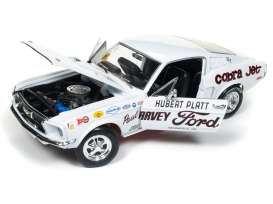 Ford  - Mustang 2+2 *Hubert Platt* 1965 white - 1:18 - Auto World - AW247 | Tom's Modelauto's
