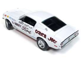 Ford  - Mustang 2+2 *Hubert Platt* 1965 white - 1:18 - Auto World - 247 - AW247 | Toms Modelautos