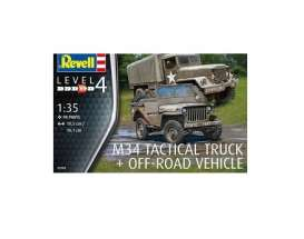 Military Vehicles  - Various  - 1:35 - Revell - Germany - 03260 - revell03260 | Tom's Modelauto's