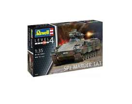 Military Vehicles  - SPz Marder 1 A3  - 1:35 - Revell - Germany - 03261 - revell03261 | Tom's Modelauto's