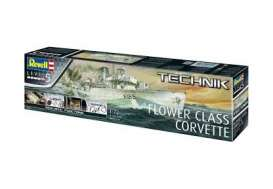Boats  - Flower Class Corvette  - 1:72 - Revell - Germany - 00451 - revell00451 | Tom's Modelauto's