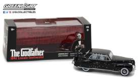 Lincoln  - Continental 1941 black - 1:43 - GreenLight - 8651GM - gl8651GM | Tom's Modelauto's