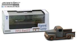 Ford  - F-1 pick-up *Forrest Gump* 1951  - 1:43 - GreenLight - 86514GM - gl86514GM | Tom's Modelauto's
