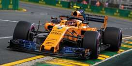 McLaren Renault - MCL33 2018 yellow-orange - 1:43 - Minichamps - 537184302 - mc537184302 | Tom's Modelauto's