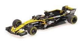 Renault  - RS18 2018 yellow/black - 1:43 - Minichamps - 417180055 - mc417180055 | Tom's Modelauto's