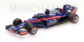Scuderia Toro Rosso - STR13 2018 blue/red - 1:43 - Minichamps - 417180028 - mc417180028 | Tom's Modelauto's