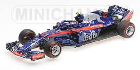 Scuderia Toro Rosso - STR13 2018 blue/red - 1:43 - Minichamps - 417180010 - mc417180010 | Tom's Modelauto's