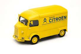 Citroen  - HY 1962 yellow/blue - 1:24 - Welly - 24019TDCy - welly24019TDCy | Tom's Modelauto's