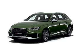 Audi  - RS4 2018 green - 1:87 - Minichamps - 870018210 - mc870018210 | Toms Modelautos