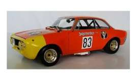 Alfa Romeo  - GTA 1300 1972 orange-red - 1:18 - Minichamps - 155721283 - mc155721283 | Tom's Modelauto's