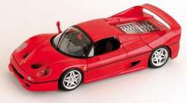 Ferrari  - 1995 red - 1:18 - Hotwheels - mv50430 - hwmv50430 | Tom's Modelauto's