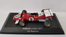 Ferrari  - 312B2 1971 red/white - 1:43 - Magazine Models - MagFer312B2 | Tom's Modelauto's