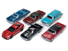 Assortment/ Mix  - various - 1:64 - Auto World - 64162A - AW64162A | Tom's Modelauto's
