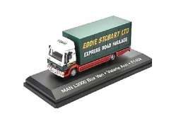 MAN  - L2000 white/red/green - 1:76 - Magazine Models - STOjv9118 - magSTOjv9118 | Toms Modelautos