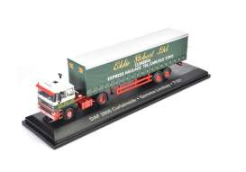 Daf  - 2800 green/red/white - 1:76 - Magazine Models - STOjv9127 - magSTOjv9127 | Tom's Modelauto's