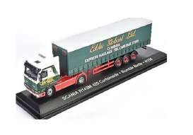 Scania  - 112 green/red/white - 1:76 - Magazine Models - magSTOjv9137 | Tom's Modelauto's