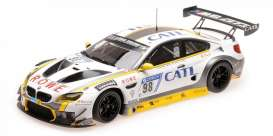 BMW  - M6 2017 white/black - 1:18 - Minichamps - 155172698 - mc155172698 | Tom's Modelauto's