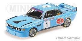 BMW  - 3.0 CSL 1974 blue - 1:18 - Minichamps - 155742681 - mc155742681 | Tom's Modelauto's