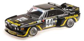 BMW  - 3.5 CSL 1976 black/yellow - 1:18 - Minichamps - 155762644 - mc155762644 | Tom's Modelauto's