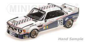 BMW  - 3.0 CSL 1977 white/black - 1:18 - Minichamps - 155772576 - mc155772576 | Tom's Modelauto's