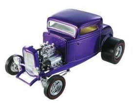 Ford  - 1932 purple - 1:18 - Hotwheels - hwmvJ2880 | Tom's Modelauto's