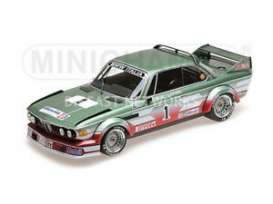 BMW  - 3.0 CSL 1979 green/red - 1:18 - Minichamps - 155792501 - mc155792501 | Tom's Modelauto's