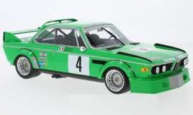 BMW  - 3.0 CSL 1979 green - 1:18 - Minichamps - mc155792504 | Tom's Modelauto's