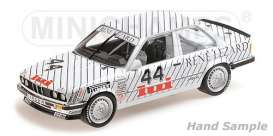 BMW  - 325I 1986 white - 1:18 - Minichamps - 155862644 - mc155862644 | Tom's Modelauto's