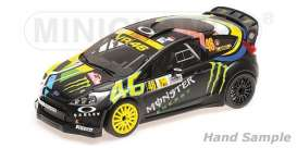 Ford  - Fiesta 2012 black/yellow - 1:18 - Minichamps - 151120846 - mc151120846 | Tom's Modelauto's