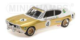 Ford  - RS 2600 1972 white/brown - 1:18 - Minichamps - 155728504 - mc155728504 | Tom's Modelauto's
