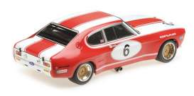 Ford  - RS 2600 1973 white/red - 1:18 - Minichamps - 155738506 - mc155738506 | Tom's Modelauto's