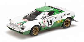 Lancia  - Stratos 1975 white/green - 1:18 - Minichamps - 155751714 - mc155751714 | Tom's Modelauto's