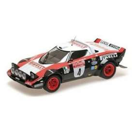 Lancia  - Stratos 1978 blue/white - 1:18 - Minichamps - 155781704 - mc155781704 | Tom's Modelauto's