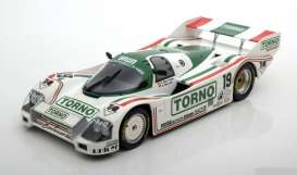 Porsche  - 962C 1985 white/green - 1:18 - Minichamps - 155856519 - mc155856519 | Tom's Modelauto's