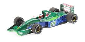 Jordan Ford - 191 1991 green/blue - 1:18 - Minichamps - mc510911801 | Tom's Modelauto's