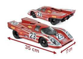 Porsche  - 917 1970 red - 1:12 - Norev - 127501 - nor127501 | Tom's Modelauto's