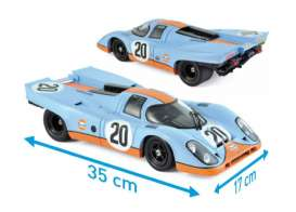 Porsche  - 917 1970 blue - 1:12 - Norev - nor127500 | Tom's Modelauto's