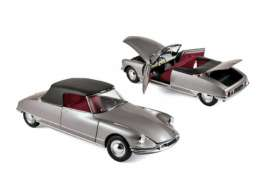 Citroen  - DS 19 1961 grey - 1:18 - Norev - 181598 - nor181598 | Tom's Modelauto's