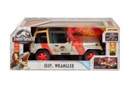 Jeep  - Jurassic World 2 red/silver - 1:18 - Matchbox - MatFRM53 | Tom's Modelauto's
