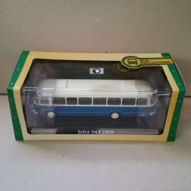 Jelcz  - 043 1959 blue/white - 1:72 - Magazine Models - BUS7163132 - magBUS7163132 | Tom's Modelauto's