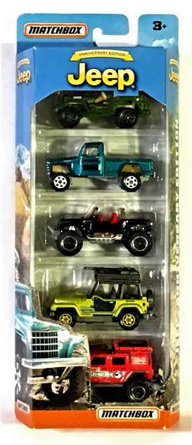 Jeep  - various - 1:64 - Matchbox - matDRC45 | Tom's Modelauto's