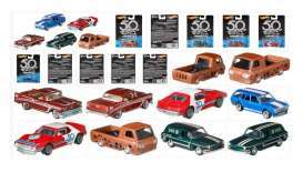 Assortment/ Mix  - 2018 various - 1:64 - Hotwheels - mvFLF35-965A - hwmvFLF35-965A | Toms Modelautos