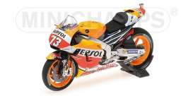 Honda  - RC213V 2016 red/yellow/orange - 1:18 - Minichamps - 182161173 - mc182161173 | Toms Modelautos