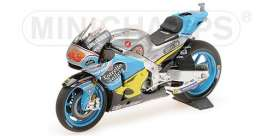Honda  - RC213V 2017 blue/yellow - 1:18 - Minichamps - 182171143 - mc182171143 | Tom's Modelauto's